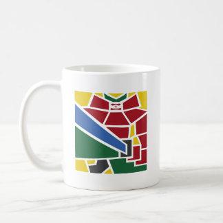 モザイク武士のマグ コーヒーマグカップ
