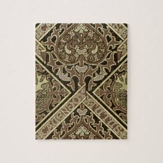 モザイク聖職の壁紙のデザイン ジグソーパズル