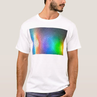 モザイク虹 Tシャツ
