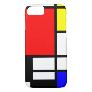 モザイク長方形は着色しましたIを平方します + あなたのアイディア iPhone 8/7ケース