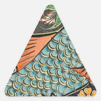 モザイク魚のFash 三角形シール