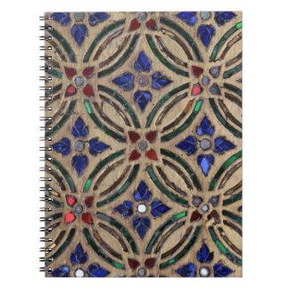 モザイク・タイルパターン石のガラスモロッコの写真 ノートブック