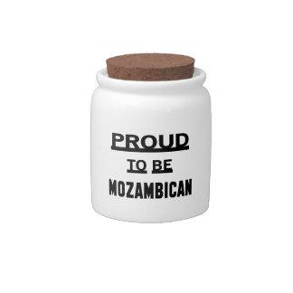 モザンビークがあること誇りを持った キャンディージャー