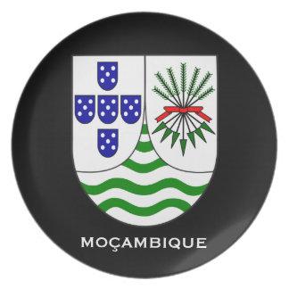モザンビークのコレクタ板 プレート