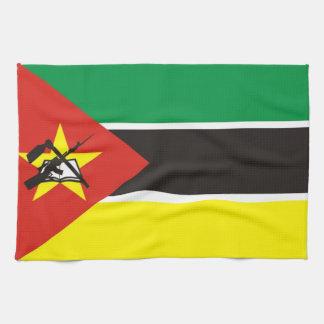 モザンビークの国旗タオル ハンドタオル