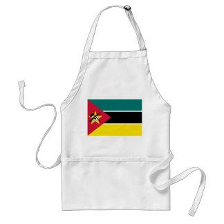 モザンビークの国民の世界の旗 スタンダードエプロン