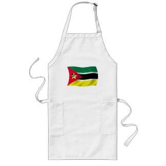 モザンビークの旗のエプロン ロングエプロン