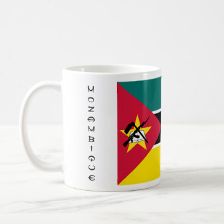 モザンビークの旗のマグ コーヒーマグカップ