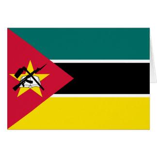 モザンビークの旗カード カード