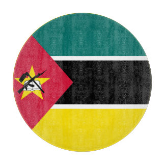 モザンビークの旗 カッティングボード