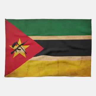 モザンビークの旗 キッチンタオル