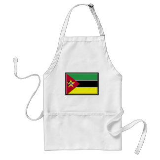 モザンビークの旗 スタンダードエプロン