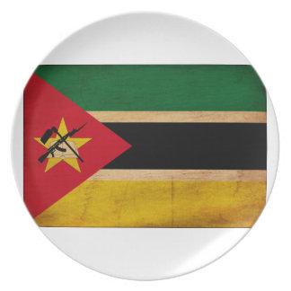 モザンビークの旗 パーティープレート
