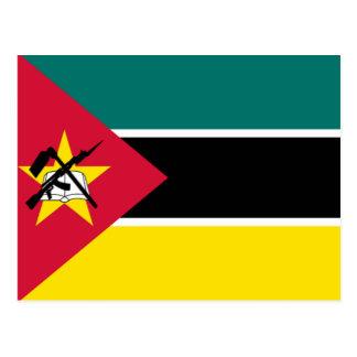 モザンビークの旗 ポストカード