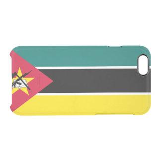 モザンビークの澄んなiPhoneの場合の旗 クリアiPhone 6/6Sケース