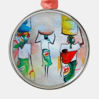 モザンビークの独立! メタルオーナメント