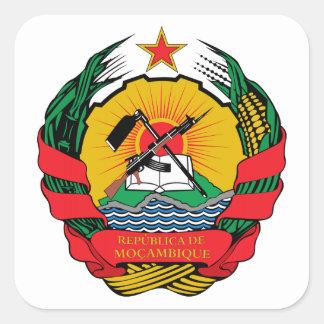 モザンビークの紋章付き外衣 スクエアシール