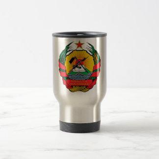モザンビークの紋章付き外衣 トラベルマグ