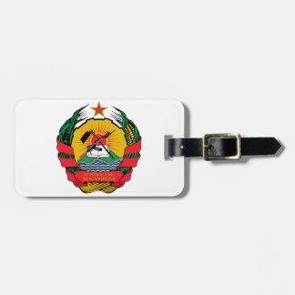 モザンビークの紋章付き外衣 ラゲッジタグ
