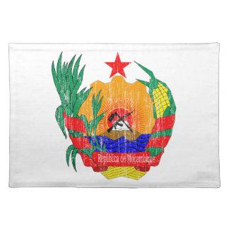 モザンビークの紋章付き外衣 ランチョンマット