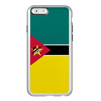 モザンビークの銀製のiPhoneの場合の旗 Incipio Feather Shine iPhone 6ケース
