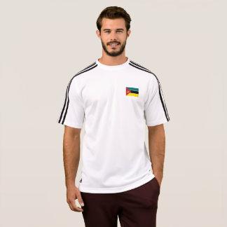 モザンビークのTシャツのメンズ旗 Tシャツ