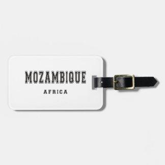 モザンビークアフリカ ラゲッジタグ
