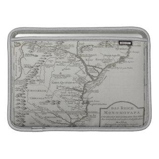 モザンビーク、アフリカの地図 MacBook スリーブ