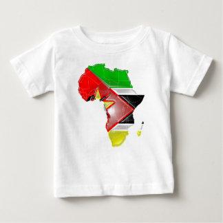 モザンビーク ベビーTシャツ