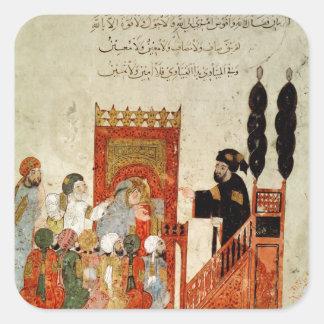 モスクで説教するAbou Zayd スクエアシール
