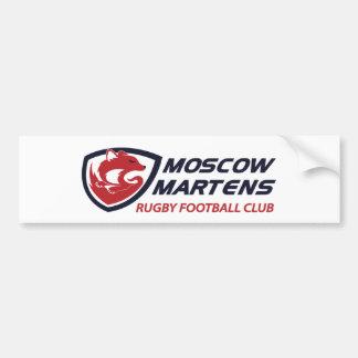 モスクワのテンRFCの赤 バンパーステッカー