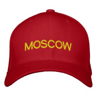 モスクワの帽子 刺繍入りキャップ