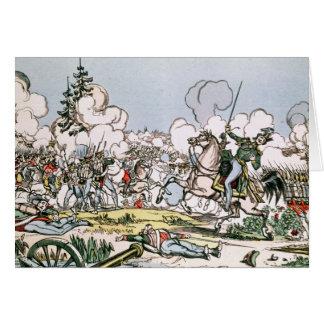 モスクワの戦い、1812年9月7日 カード