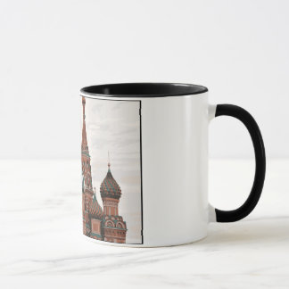 モスクワの聖者のベズルのカテドラルのマグ マグカップ