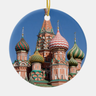 モスクワの聖者のベズルのカテドラル教会 セラミックオーナメント