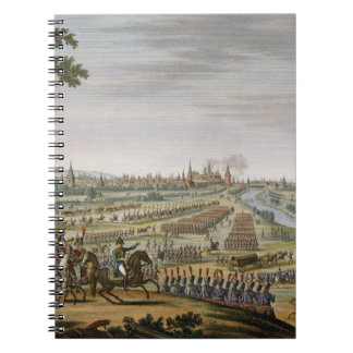 モスクワへのフランス人、9月14日の記入項目 ノートブック