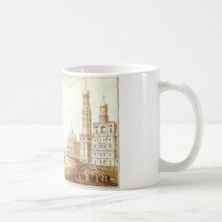 モスクワクレムリンのSobornayaスクエアの眺め コーヒーマグカップ
