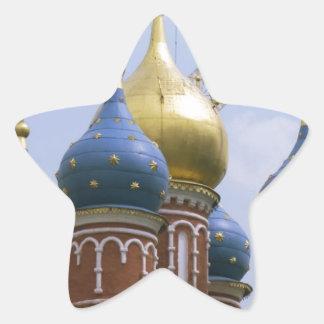 モスクワ 星シール