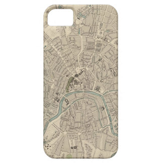 モスクワ(1836年)のヴィンテージの地図 iPhone SE/5/5s ケース