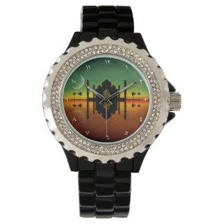 モスク夜反射-腕時計 腕時計