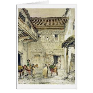 モスク(Patio de la Mesquita)の裁判所、から「 カード