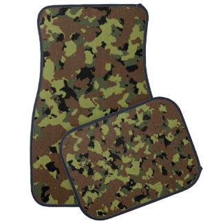 モスグリーンの軍隊の迷彩柄 カーマット