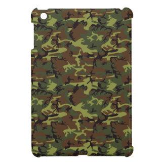 モスグリーンの迷彩柄 iPad MINI カバー