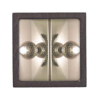 モダンできれいで幾何学的な映されたキャビネットのノブ ギフトボックス