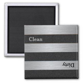 モダンできれいな汚れた食洗機の磁石 マグネット