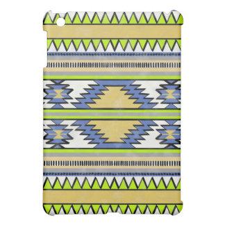 モダンでアステカなマヤの抽象的な種族パターン上品 iPad MINIケース