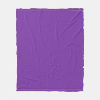 モダンでエレガントな紫色のすみれ色色の調和 フリースブランケット