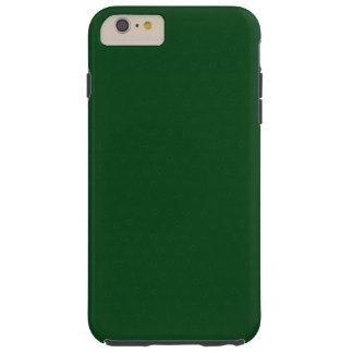 モダンでカスタマイズ可能な深緑色、 TOUGH iPhone 6 PLUS ケース