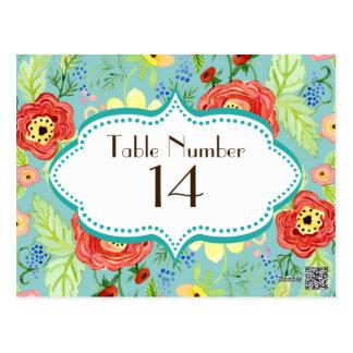 モダンでモダンな花のRanunculusの葉のばら色ブラケット ポストカード