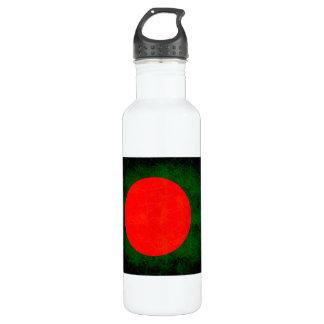モダンで刃の鋭いパングラデシュの旗 ウォーターボトル